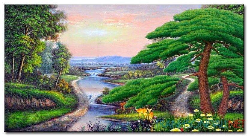 Tranh Phong Cảnh M2153