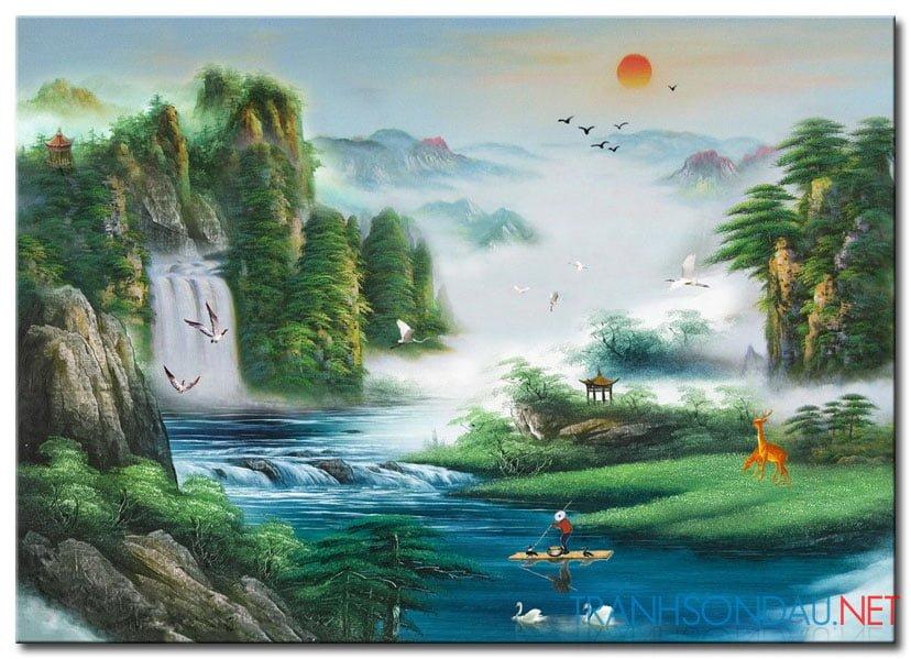 Tranh Phong Cảnh M2155