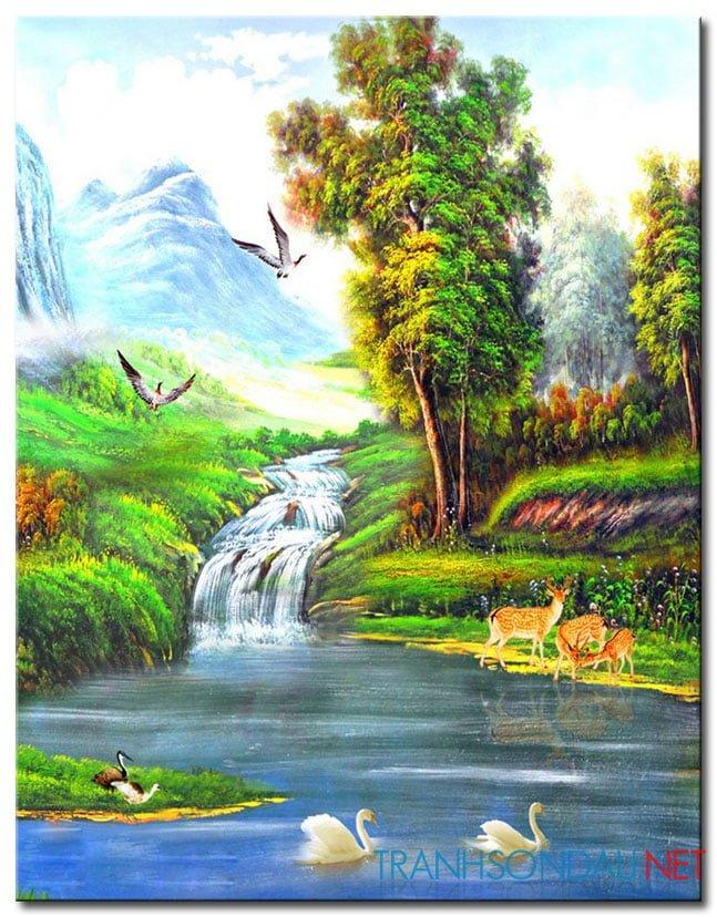 Tranh Phong Cảnh M2161