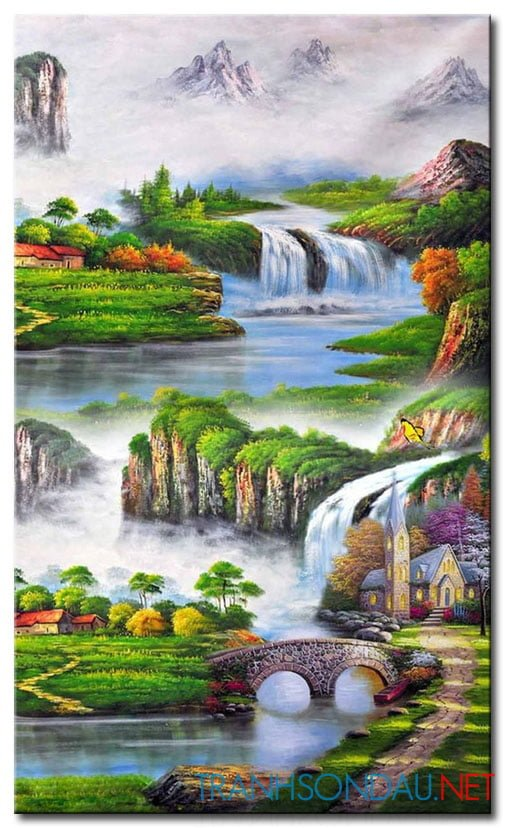Tranh Phong Cảnh M2166