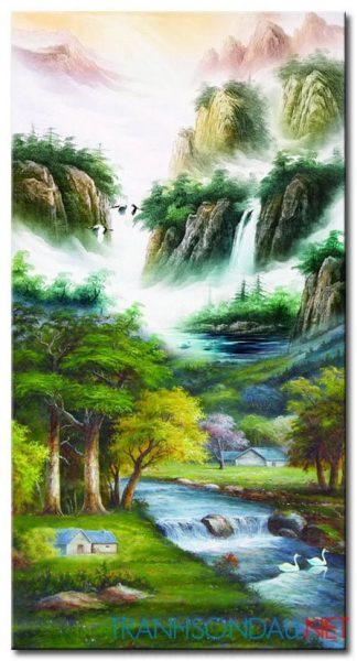 Tranh Phong Cảnh M21670