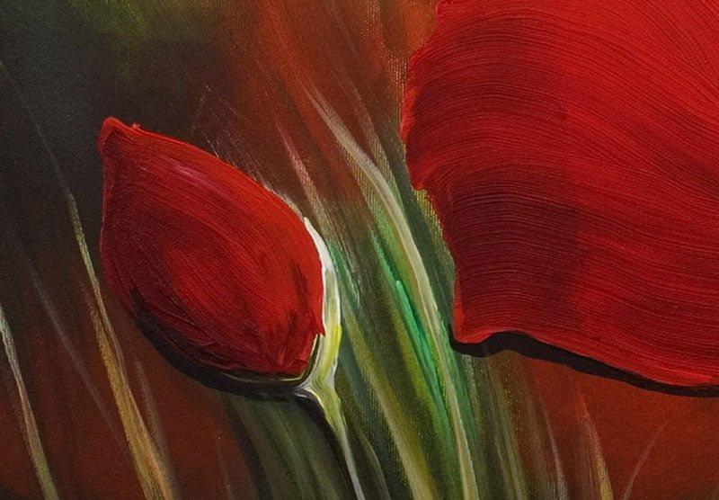 hoa poppy m2251-2