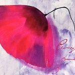 hoa poppy m2312-2