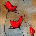 hoa poppy m2338-2