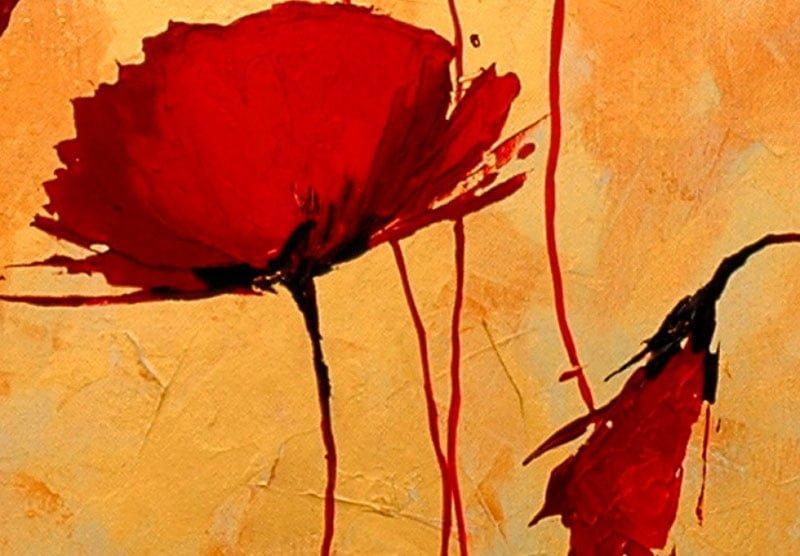 hoa poppy m2348-2