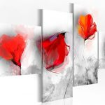 hoa poppy m2369-4