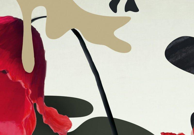 hoa poppy m2378-2