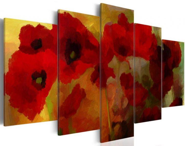 hoa poppy m2384-4