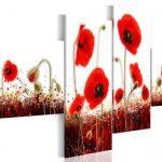 hoa poppy m2387-1