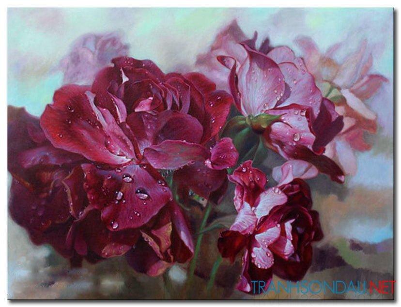 Những Cánh Hoa Khoe Sắc M2429